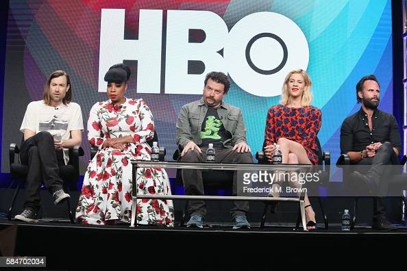 Executive producer/cocreator Jody Hill actress Kimberly Hebert Gregory actor/executive producer/cocreator Danny McBride actress Georgia King and...
