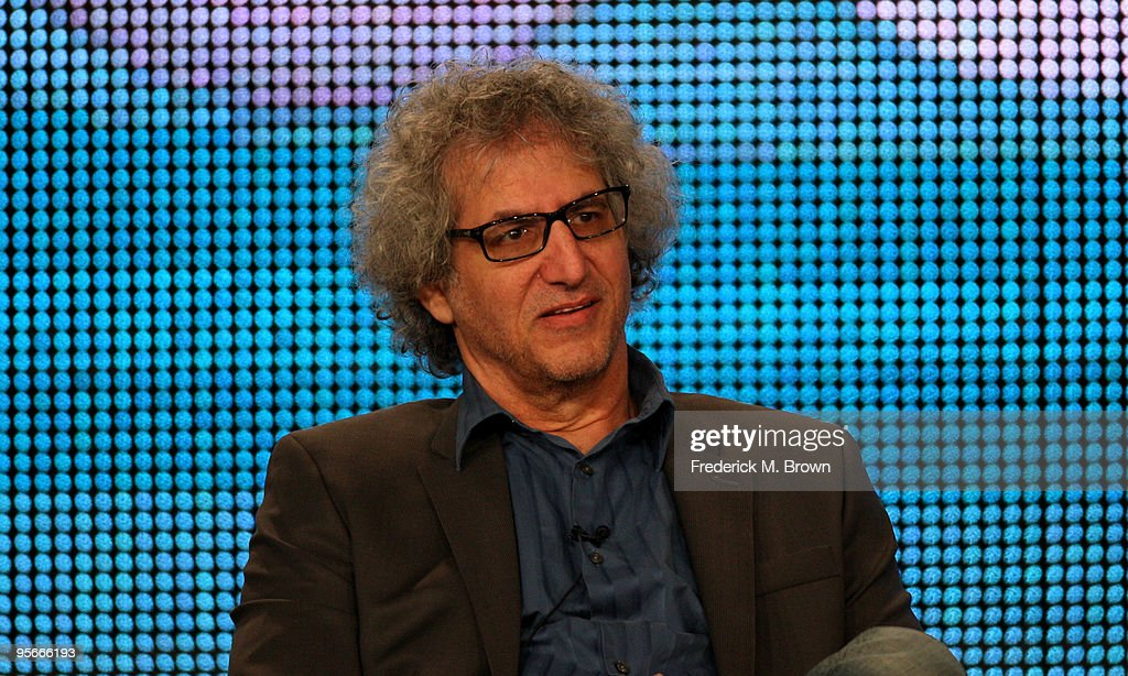Executive producer/Co-creator of 'Two and a half Men' and 'Big Bang Theory' Lee Aronsohn speaks onstage at the CBS Comedy Showrunner Q&A portion of the 2010 Winter TCA Tour day 1 at the Langham Hotel on January 9, 2010 in Pasadena, California.