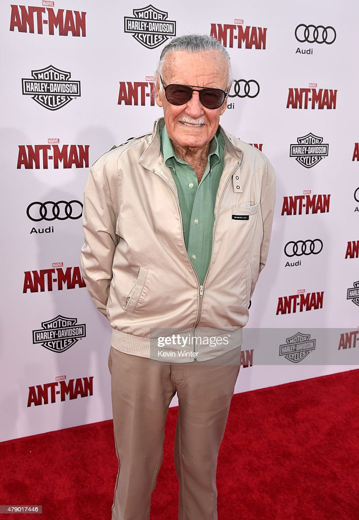 Executive producer/comic book icon Stan Lee attends the premiere of Marvel's 'Ant-Man' at the Dolby Theatre on June 29, 2015 in Hollywood, California.