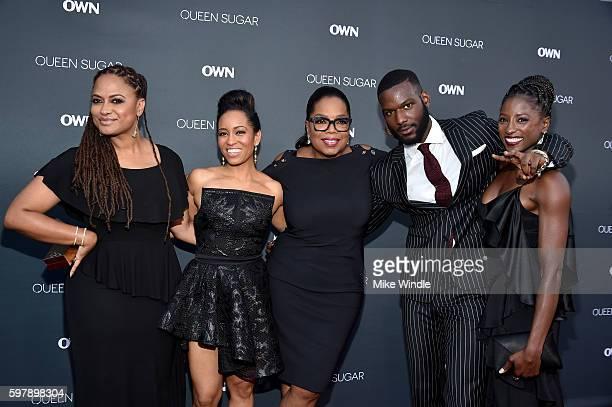 Executive producer/creator Ava DuVernay actress DawnLyen Gardner executive producer Oprah Winfrey and actors Kofi Siriboe and Rutina Wesley attend...