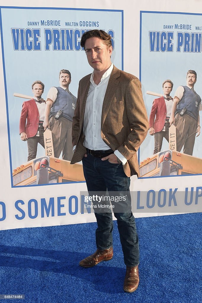 Executive Producer/director David Gordon Green attends the premiere of HBO's 'Vice Principals' at Avalon Hollywood on July 7 2016 in Los Angeles...