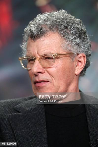 Executive producer/director Jon Amiel of the series 'Outsiders' speaks onstage during the WGN America portion of the 2017 Winter Television Critics...