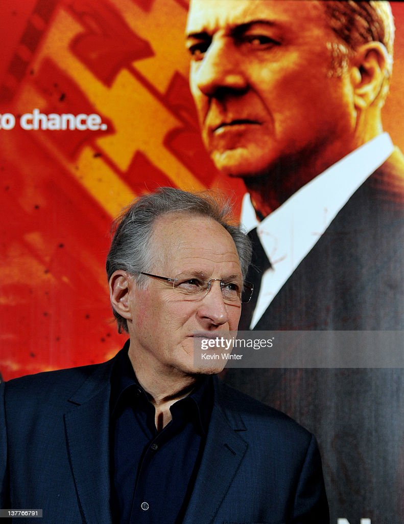 Executive producer/director <a gi-track='captionPersonalityLinkClicked' href=/galleries/search?phrase=Michael+Mann&family=editorial&specificpeople=203157 ng-click='$event.stopPropagation()'>Michael Mann</a> arrives at the premiere of HBO's 'Luck' at the Chinese Theater on January 25, 2012 in Los Angeles, California.