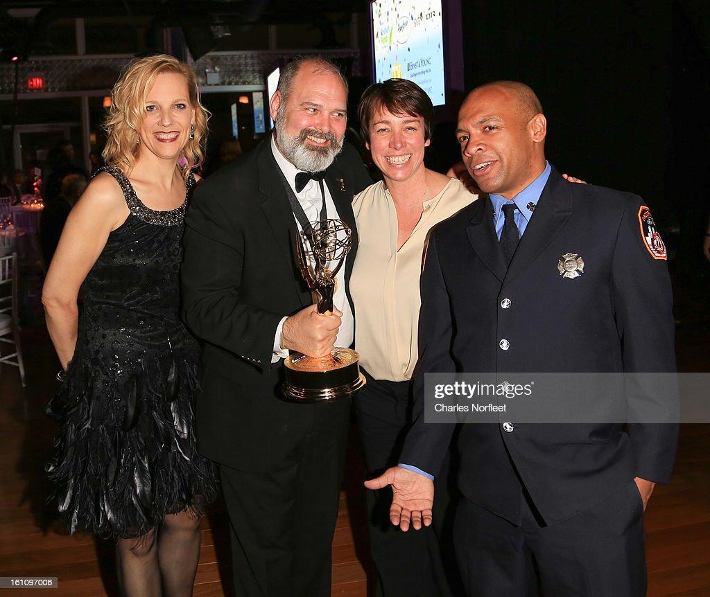 producer/Emmy Award Winner Michael Carrington, FDNY Firefighter Daniel ...