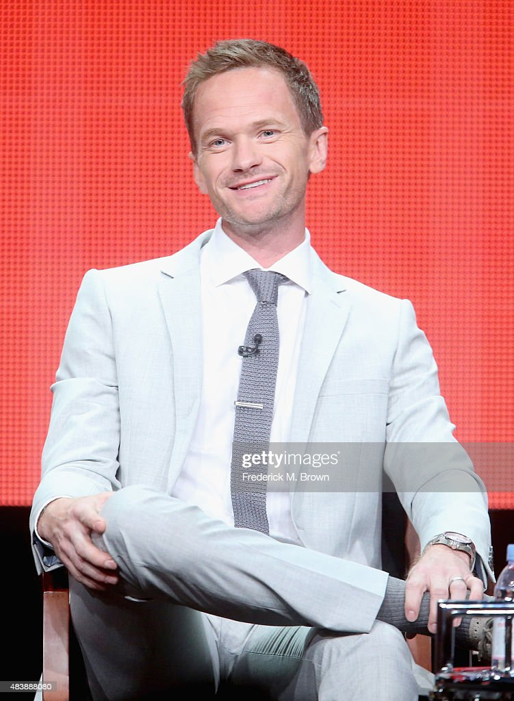 Executive producer/host Neil Patrick Harris speaks onstage during NBC's 'Best Time Ever with Neil Patrick Harris' panel discussion at the NBCUniversal portion of the 2015 Summer TCA Tour at The Beverly Hilton Hotel on August 13, 2015 in Beverly Hills, California.