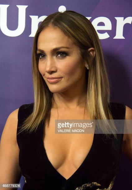 Executive producer/judge Jennifer Lopez of 'World Of Dance' arrives at the NBC Universal Summer Press Day at the Beverly Hilton on March 20 2017...