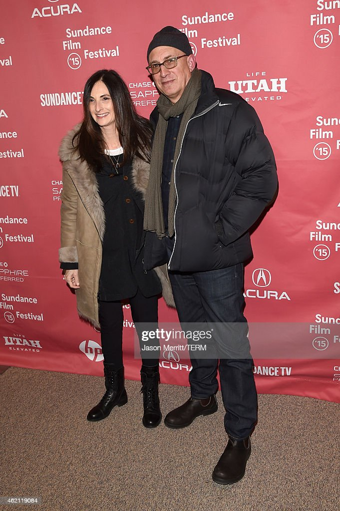 Executive producers Carla Hacken (L) and Jim Tauber attend the 'Sleeping With Other People' premiere during the 2015 Sundance Film Festival on January 24, 2015 in Park City, Utah.