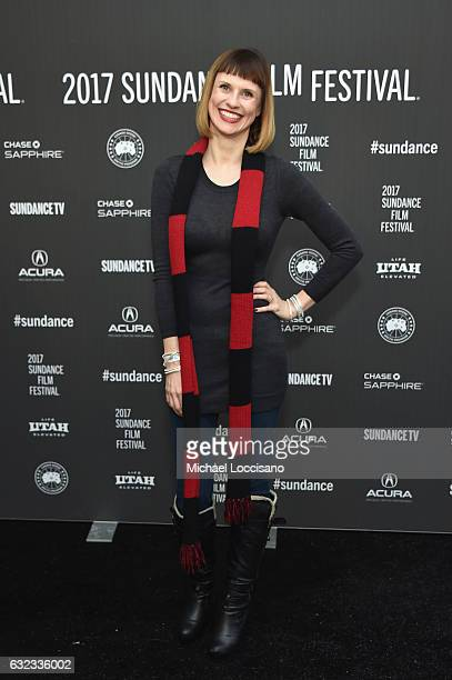 Executive Producers Charlsey Adkins attends the 'Walking Out' premiere on day 3 of the 2017 Sundance Film Festival at Library Center Theater on...
