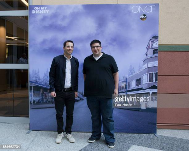 TIME Executive producers Edward Kitis Adam Horowitz and David Goodman and show talent Ginnifer Goodwin and Josh Dallas attend a special advance...