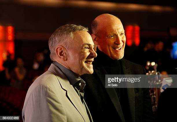 Executive producers for the 85th Academy Awards show Oscars telecast are Neil Meron right and Craig Zadan left during announcement of the 85th...