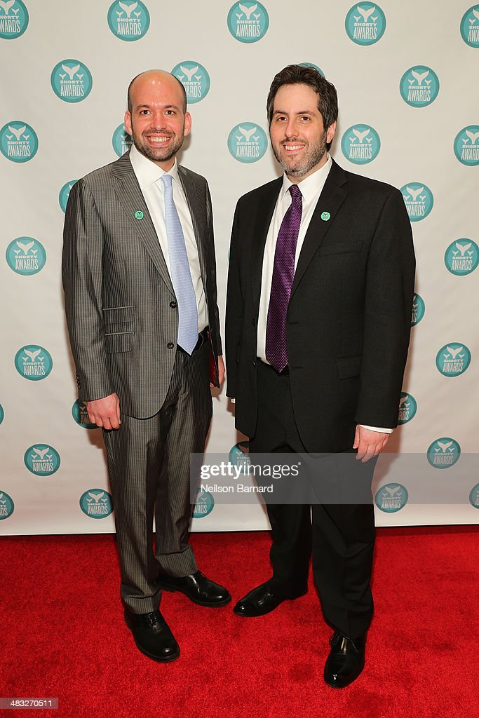 Executive Producers of the Shorty Awards Greg Galant and Lee Semel attend the 6th Annual Shorty Awards on April 7, 2014 in New York City.