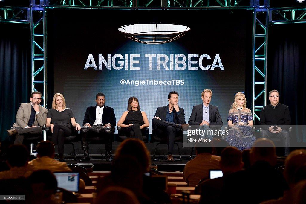 Executive producers Steve Carell and Nancy Carell actors Deon Cole Rashida Jones Hayes MacArthur Jere Burns Andree Vermeulen and executive producer...