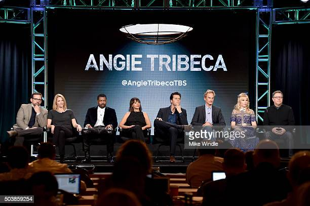 Executive producers Steve Carell and Nancy Carell actors Deon Cole Rashida Jones Hayes MacArthur Jere Burns Andree Vermeulen and executive producer...