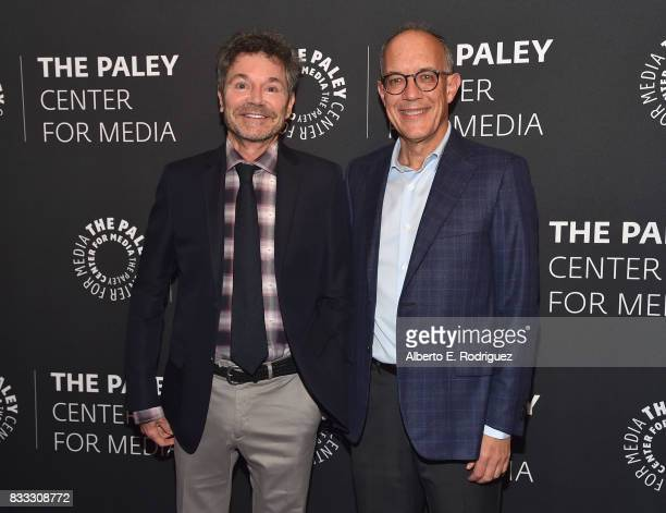 Executive producers/creators Jeffrey Klarik and David Crane attend the 2017 PaleyLive LA Summer Season Premiere Screening And Conversation For...