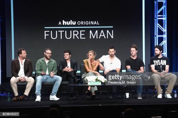 Executive producer/showrunner Ben Karlin executive producer/director Seth Rogan producer Josh Hutcherson Eliza Coupe Derek Wilson creator/executive...