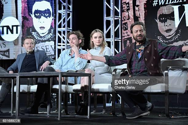 Executive producer/showrunner Craig Pearce actors Laurie Davidson Olivia DeJonge and Executive producer/director Shekhar Kapur of 'Will' speak...