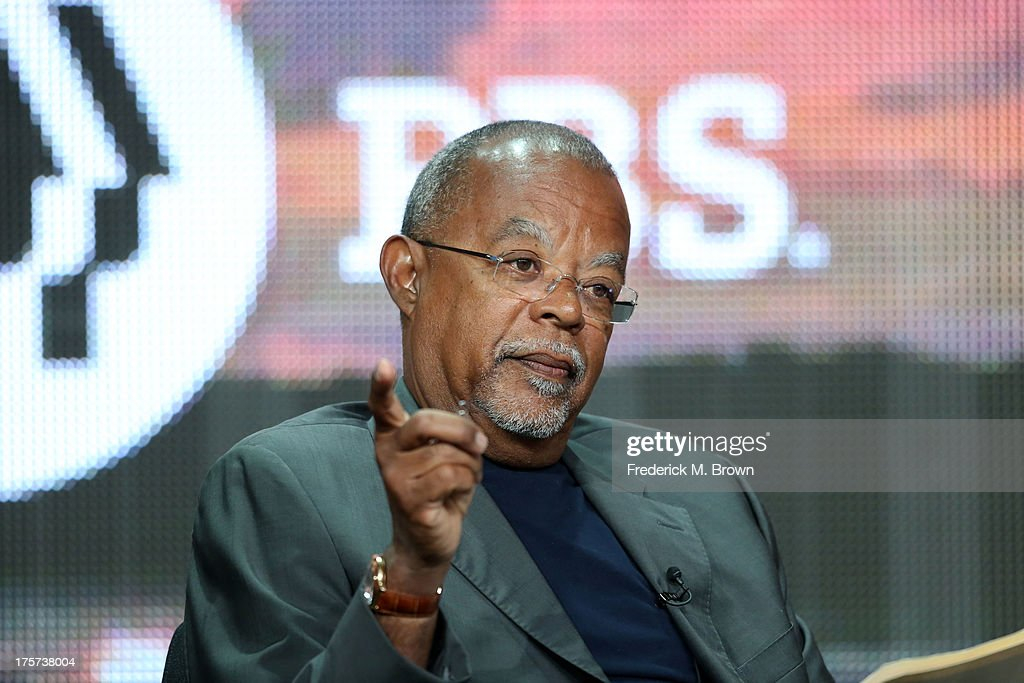 Executive producer/writer Henry Louis Gates, Jr. speaks onstage during 'The African Americans: Many Rivers to Cross with Henry Louis Gates, Jr.' panel discussion at the PBS portion of the 2013 Summer Television Critics Association tour at the Beverly Hilton Hotel on August 7, 2013 in Beverly Hills, California.