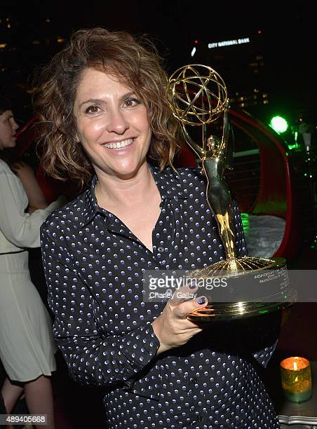Executive producer/writer Jill Soloway attends Amazon Prime's Emmy Celebration at The Standard Hotel on September 20 2015 in Los Angeles California