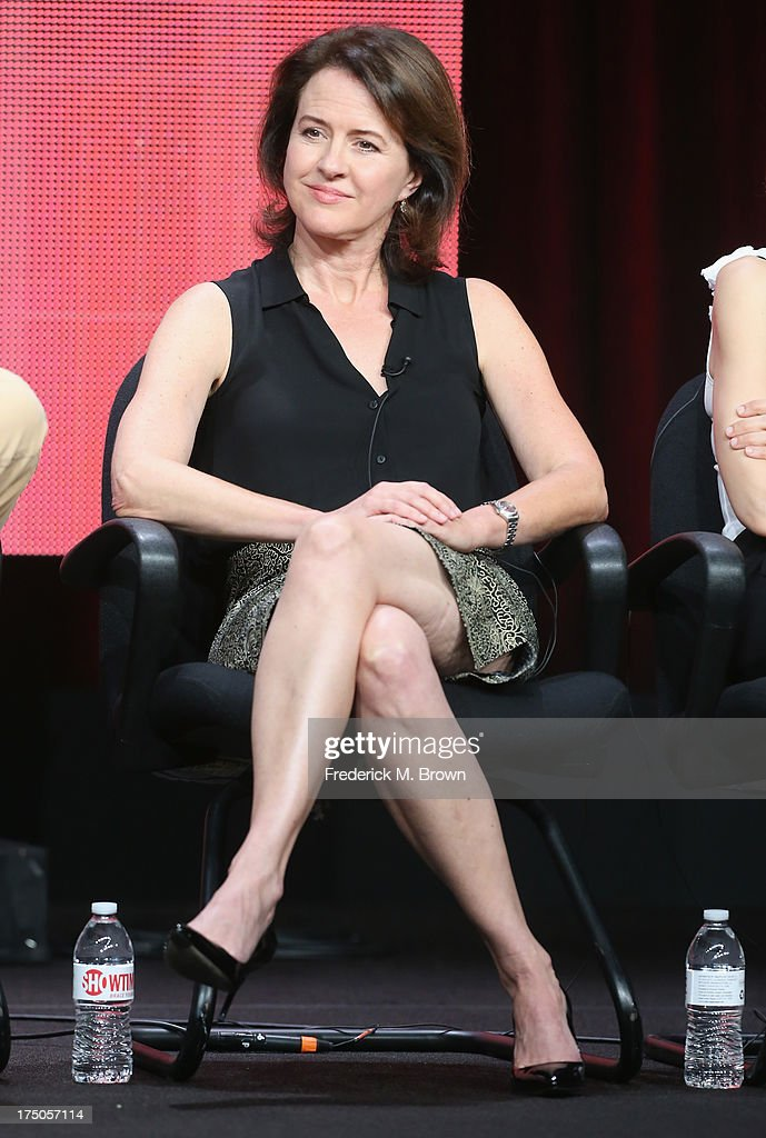 Executive producer/writer Michelle Ashford speaks onstage during the 'Masters of Sex' panel discussion at the CBS, Showtime and The CW portion of the 2013 Summer Television Critics Association tour at the Beverly Hilton Hotel on July 30, 2013 in Beverly Hills, California.