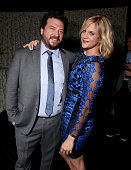 Executive producer/writer/director/actor Danny McBride and actress Georgia King attend the Los Angeles premiere of HBO's 'Vice Principals' at Avalon...