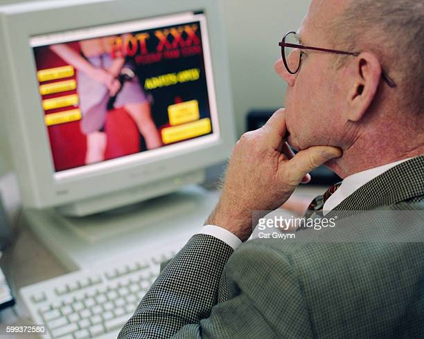Executive Surfing Internet for Pornography