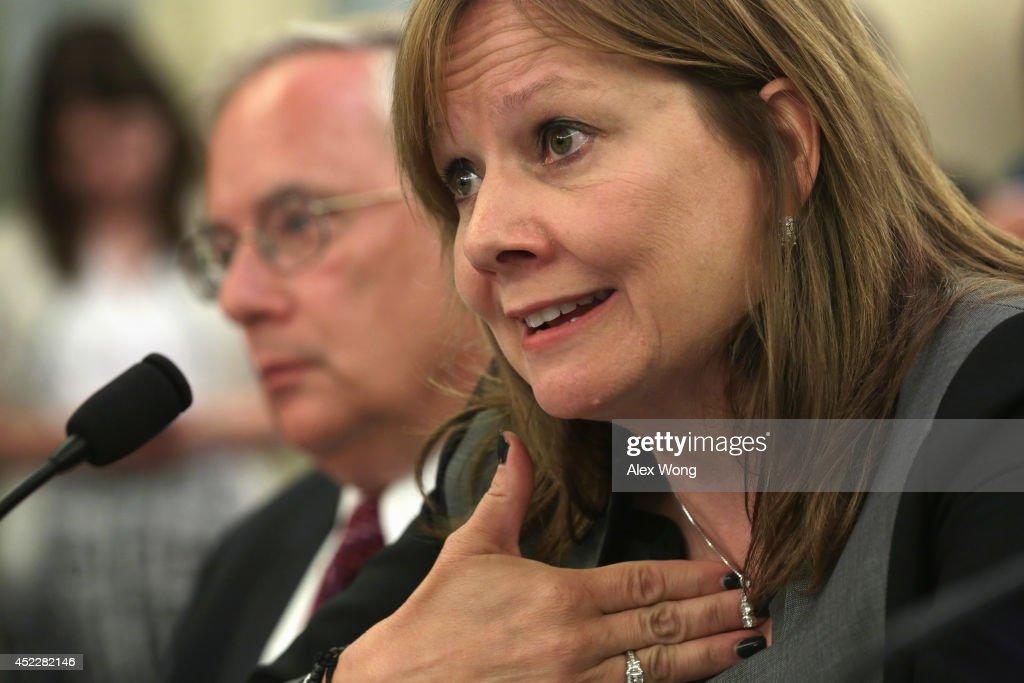 General Motors CEO Mary Barra Testifies Before Senate Committee About GM's Recalls