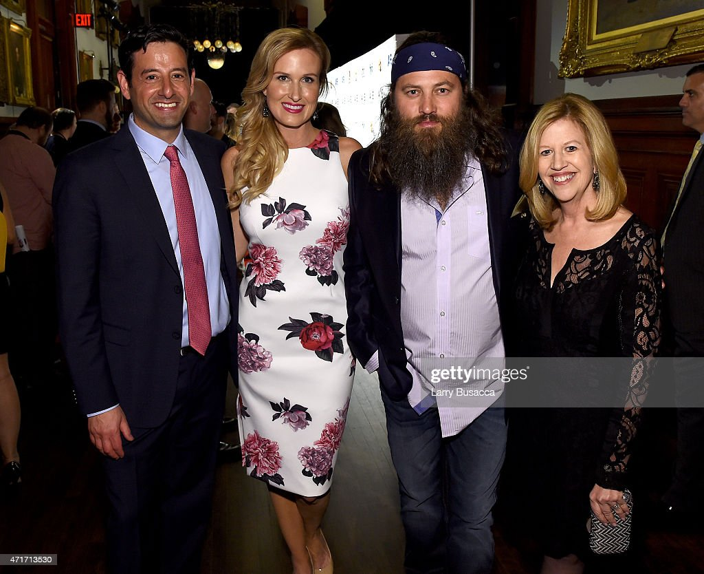 Executive Vice President and General Manager AE and Lifetime Robert Sharenow TV personality Korie Robertson TV personality Willie Robertson and...
