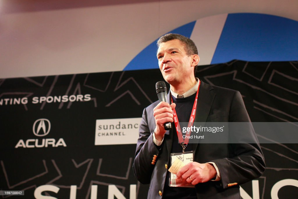 Executive Vice President and Managing Editor for CNN Worldwide Mark Whitaker speaks at the DFP Reception Co-Hosted by CNN Films at Sundance House during the 2013 Sundance Film Festival on January 18, 2013 in Park City, Utah.