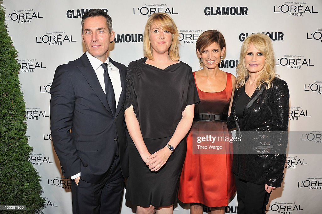 Executive Vice President and Publishing Director of Glamour Bill Wackermann Kristen Comings of L'Oreal Paris Glamour Editor in Chief Cindi Leive and...
