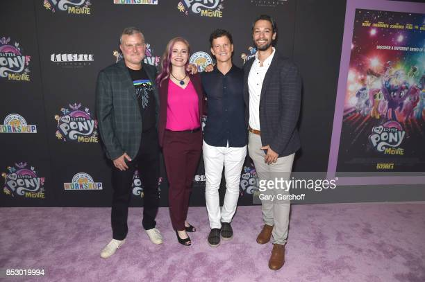 Executive Vice President Chief Content Officer Hasbro Stephen Davis screenwriter Meghan McCarthy CEO of Hasbro Brian Goldner and producer Josh...