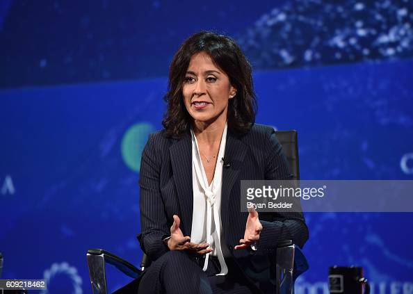 Executive Vice President International People Division Walmart former COO Walmart US Gisel Ruiz speaks at the 2016 Concordia Summit Day 2 at Grand...