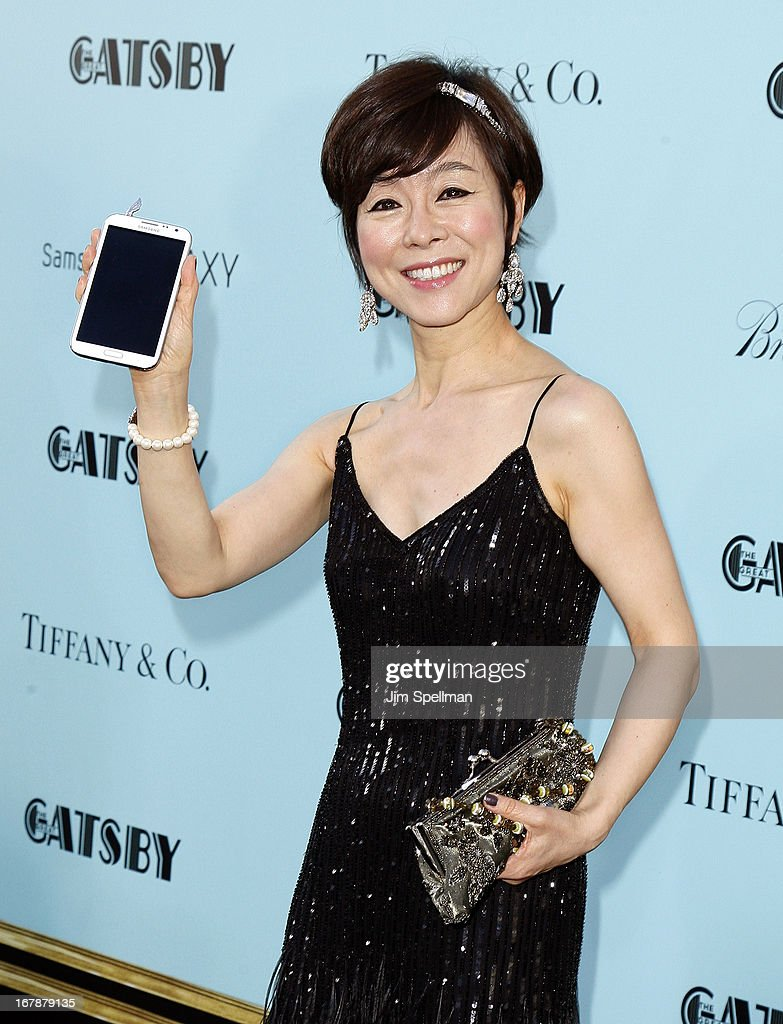 Executive Vice President of Samsung's mobile business Y.H. Lee attends the 'The Great Gatsby' world premiere at Avery Fisher Hall at Lincoln Center for the Performing Arts on May 1, 2013 in New York City.
