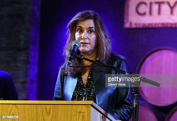 Executive Vice President of Tribeca Enterprises Paula Weinstein attends Director's Brunch at 2017 Tribeca Film Festival at City Winery on April 22...