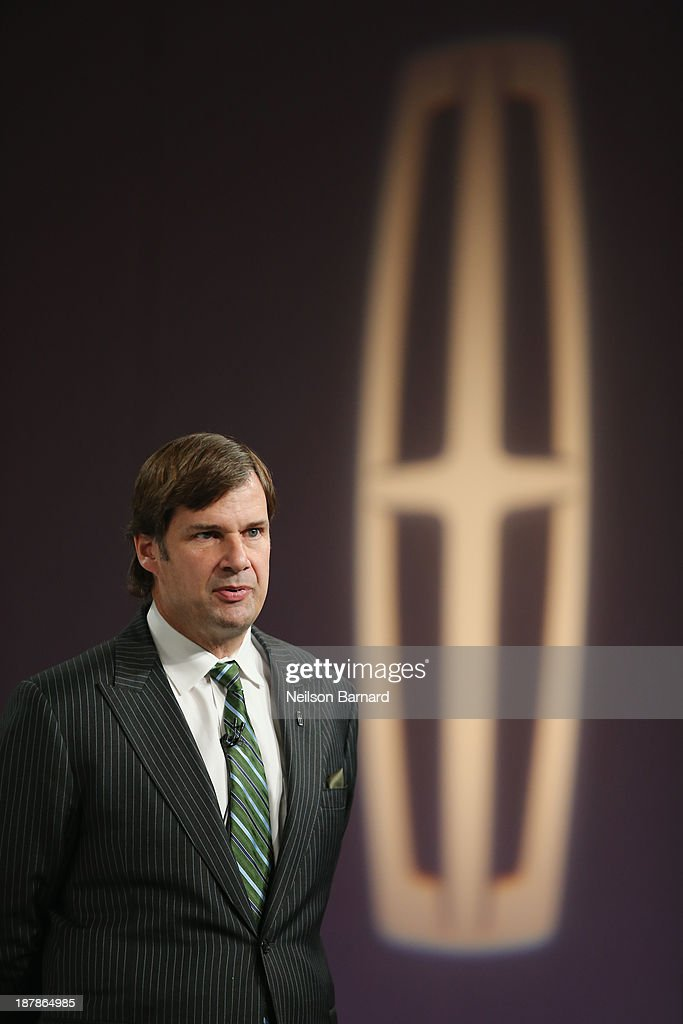 Executive VP of Ford Global, Marketing, Sales,and Service and Lincoln, Jim Farley at reveal event for all-new 2015 Lincoln MKC on November 13, 2013 in New York City.