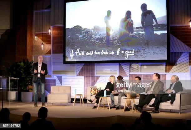 Executive VP of Thread Bill Besselman President/CEO of EMA Debbie Levin JUST Water investor and actor Jaden Smith Niche cofounder Rob Fishman...