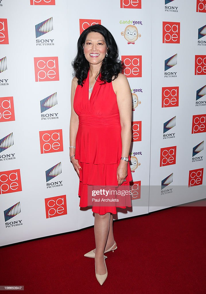 Executive Wenda Fong attends the 2012 CAPE Holiday Fundraiser 'I Am...All In' at the W Hollywood on November 17, 2012 in Hollywood, California.