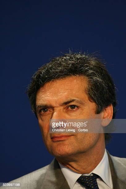 UMP executives attend a politcal meeting entitled 'Reform to Build' Patrick Devedjian