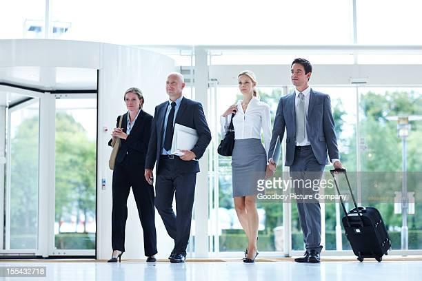 Unternehmerinnen mit hektischen Zeitplan