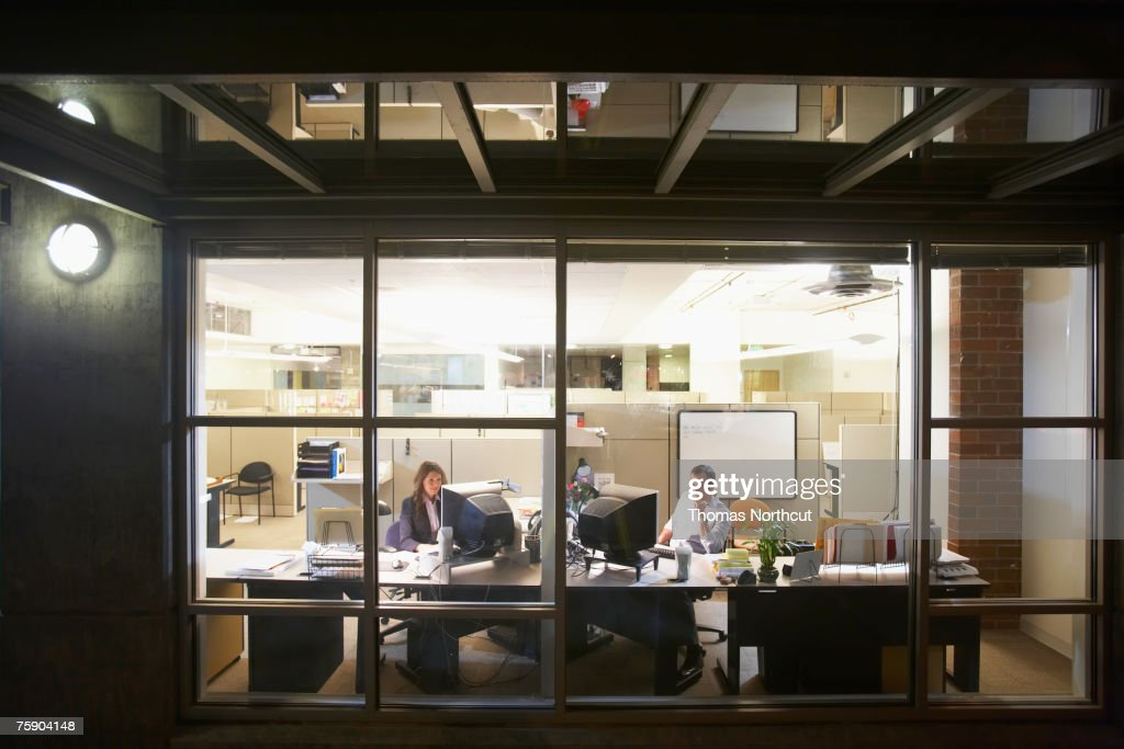 Executives working in office : Stock Photo