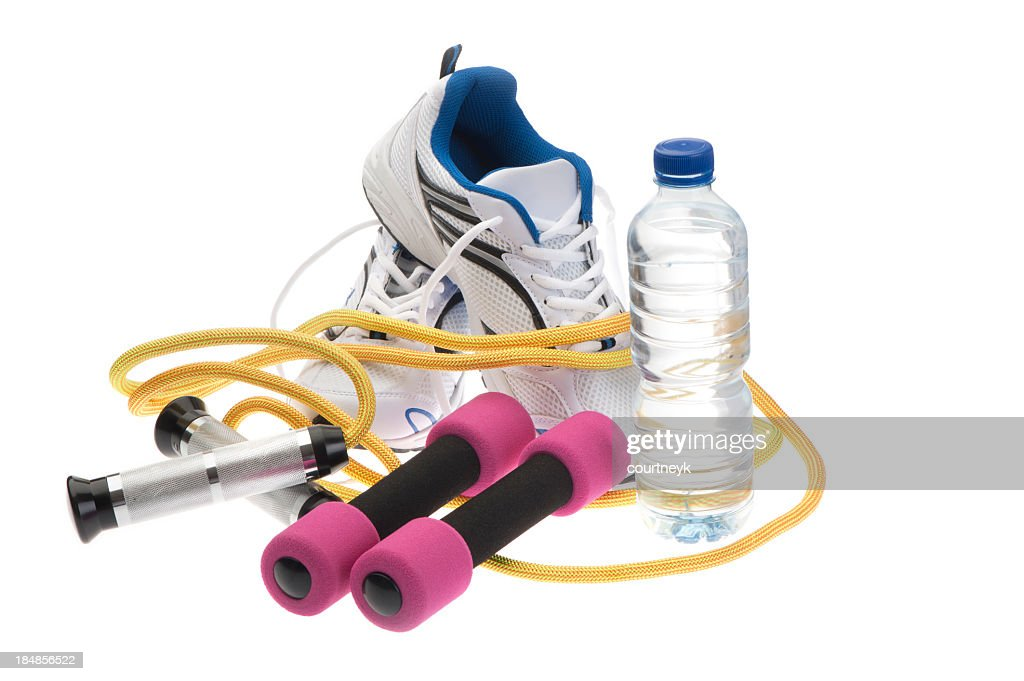 Exercise equipment set