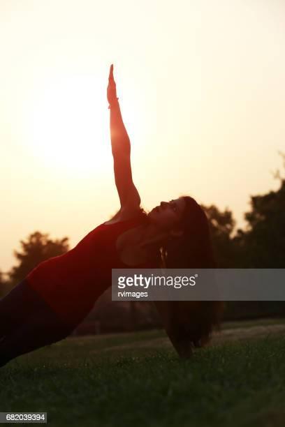 Exercising posture
