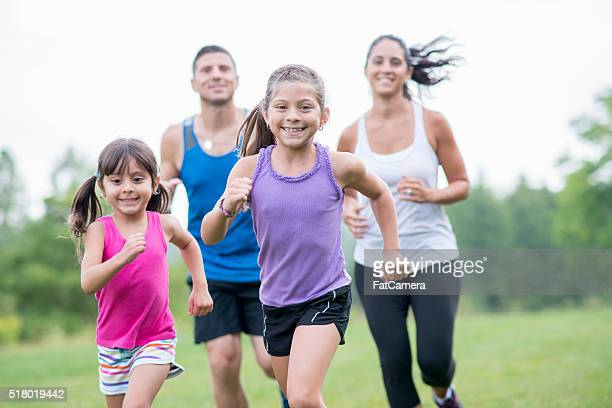 Exercising Together as a Family