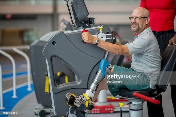 Exercising with a Prosthetic Leg at the Gym