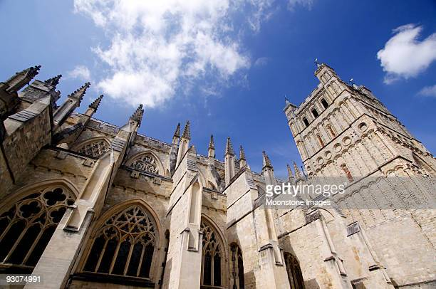 Exeter Cathedral in Devon, England