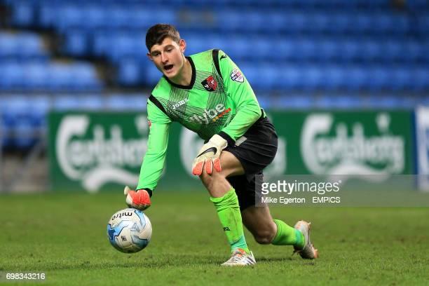 Exeter City goalkeeper James Hamon