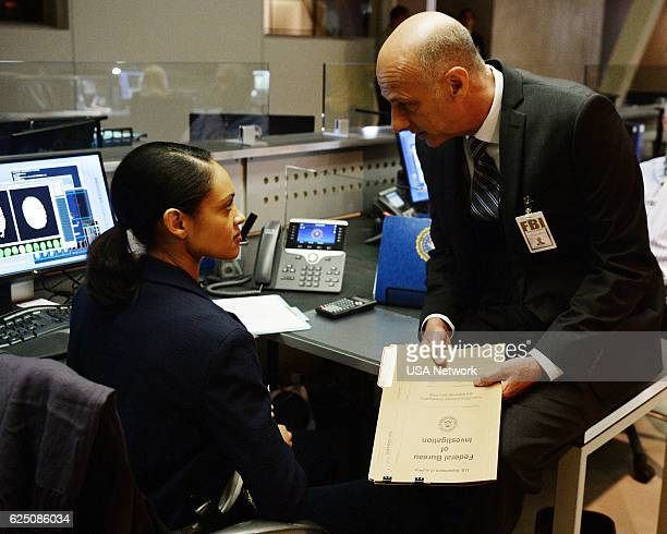 SHOOTER 'Exfil' Episode 102 Pictured Cynthia AddaiRobinson as Agent Nadine Memphis David Marciano as Howard Utey