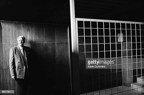 Exfootballer Bobby Robson during his time as manager of FC Barcelona March 1997