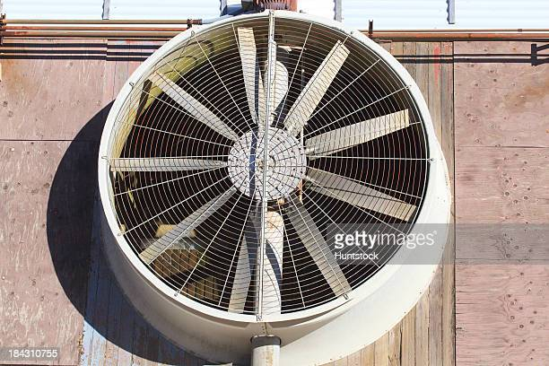 Exhaust fan at electric cogeneration plant