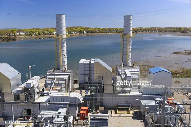 Exhaust Stapel zu einem elektrisierenden cogeneration power plant