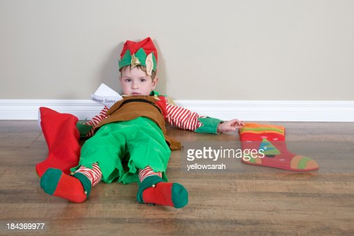 Exhausted Elf